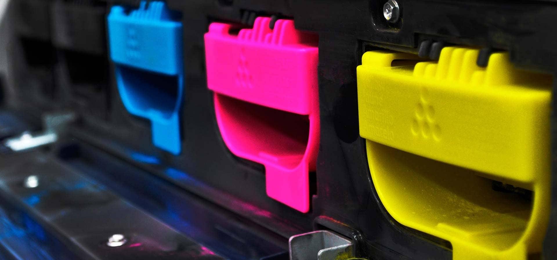 Impressora CMYK